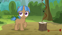Camper colt stops shooting arrows S7E21