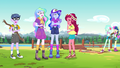 Celestia, Gloriosa, and campers laughing at Luna EG4b.png