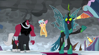 "Chrysalis ""destroy those windy beasts"" S9E25"