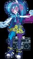 DJ Pon-3 Rainbow Rocks character bio art.png