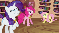 Fluttershy, Pinkie, and Rarity -what happened- S03E13
