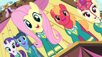 Fluttershy and Ponytones -got the music- S4E14