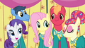 Fluttershy singing with the Ponytones S4E14.png