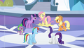 Fluttershy steps on disguise S3E1.png