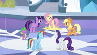 Fluttershy steps on disguise S3E1