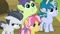 Foals in awe of Thunderlane; Rumble still annoyed S7E21.png
