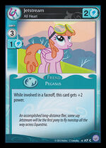Jetstream, All Heart card MLP CCG