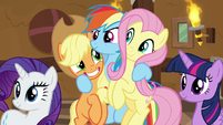 Main five in complete support of Pinkie S8E18