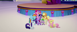 Main five singing We Got This Together MLPTM
