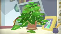 One leaf falls off of Phyllis S9E20