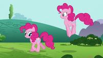 Pinkie Pie 'I'm thinking she can make matching t-shirts' S3E3