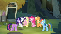 Pinkie Pie 'Rainbow Dash makes a pretty good point' S4E04