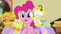 Pinkie Pie -because it would take forever- S7E19