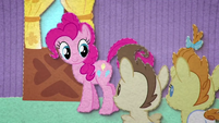 Pinkie Pie left alone with Pound and Pumpkin BFHHS2