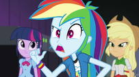 Rainbow Dash -not as much as we are- EG2