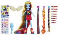 Rainbow Dash Equestria Girls hairstyling doll
