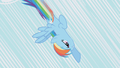 Rainbow Dash diving toward the ground S1E06.png