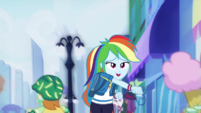 Rainbow Dash throwing punches EGDS42