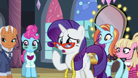 "Rarity ""it's still not right!"" S8E4"