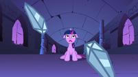 S01E02 Niedowierzanie Twilight na widok zniszczonych kamieni