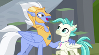 "Sky Beak ""haven't seen you in days"" S8E6"