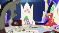 Spike --Big Mac and I were wondering-- S6E17