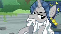 Star Swirl the Bearded stroking his beard S7E26