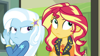 Sunset rolling her eyes at Trixie again EGFF
