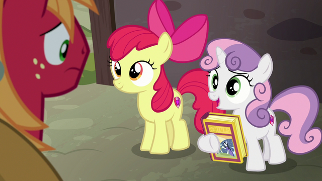 "File:Sweetie Belle ""the knight in shining armor"" S7E8.png"