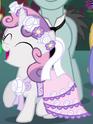 Sweetie Belle flower filly ID S2E26