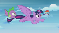 """Twilight """"think you can stop for a minute?"""" S5E25"""