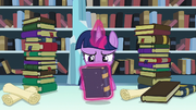 Twilight levitates Bridle Buck's Boat Chants S6E2