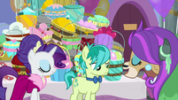 "Yona ""precisely like ponies prepare!"" S9E7"