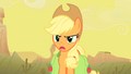 """Applejack """"Oh yeah... about what?"""" S1E21.png"""