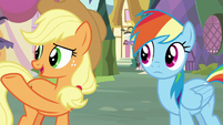 "Applejack ""not bein' able to play"" S8E18"