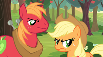 Applejack and Big McIntosh angry S2E23