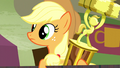 Applejack watching rodeo clowns S5E6.png