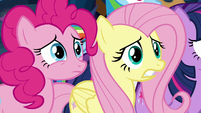 Fluttershy in sheer disbelief S9E2