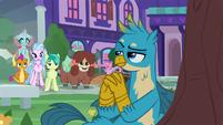 Gallus teasing his friends S8E22