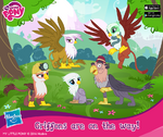 Griffons promo image MLP mobile game