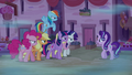 Mean Six menacingly approach Starlight Glimmer S6E25.png
