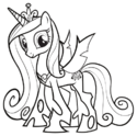 Princess Cadance half-changeling ID PCPM