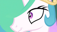 Princess Celestia wakes up S2E26