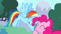 Rainbow -no pony could ever take your place- S4E12