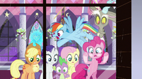 "Rainbow Dash ""it's total chaos out there!"" S9E17"