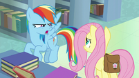 "Rainbow Dash ""now it all makes sense!"" S9E21"