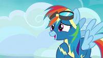 "Rainbow Dash ""you didn't have to do this"" S7E23"