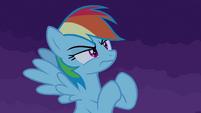 Rainbow Dash desafia o castelo T4E03