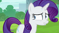 Rarity --Pinkie Pie had to give something up-- S6E3