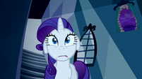 Rarity looking nervous S5E13
